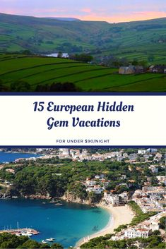 Looking for an excuse to use up those last few vacation days before the end of the year? To help you break your daily routine—without breaking your budget—TripAdvisor Rentals has rounded up 15 of the most affordable hidden gem destinations in Europe, where the average nightly cost of a two-bedroom property is under $90 this November. Vacation Days, Vacation Rentals, Vacations, European Vacation, Europe Destinations, Wanderlust Travel, Trip Advisor, Travel Inspiration, Beautiful Places