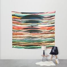 Vintage Vinyl Wall Tapestry by Laura Ruth | Society6