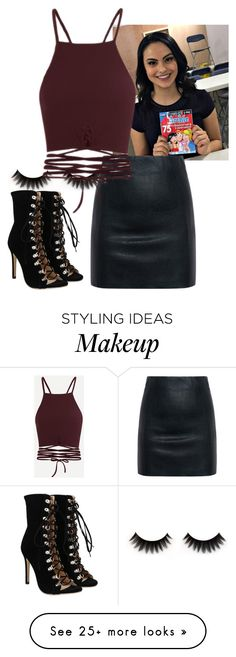 """Veronica Lodge"" by alwaysforever on Polyvore featuring McQ by Alexander McQueen"