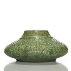 """Und Crystalline, North Dakota Wheat Vase, 3 3/8"""""""