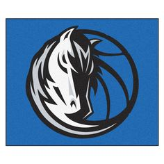 Dallas Mavericks Black Tufted Area Rug