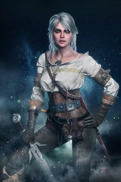 Ciri - The Witcher 3 Wild Hunt The Witcher 3, Witcher 3 Art, Ciri Witcher, The Witcher Wild Hunt, Fantasy Women, Fantasy Art, Fantasy Characters, Female Characters, Fictional Characters