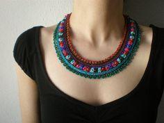 Tylophora Woollsii  ... Beaded Crochet por irregularexpressions