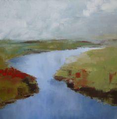 original large oil landscape painting