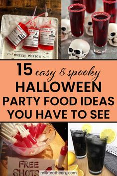 Halloween Drinks, Halloween Food For Party, Spooky Halloween, Women Halloween, Halloween Costumes, Halloween Makeup, Halloween Crafts, Vintage Halloween, Easy Halloween Treats