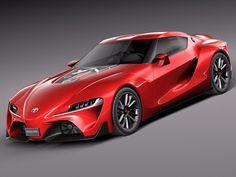 Toyota Ft 1 Concept 3Ds - 3D Model