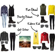 Danger Days Inspired Outfits by maggieajellison on Polyvore