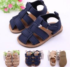 New Summer Style Casual Nubuck Leather Soft Sandals/ Baby Boys Shoes