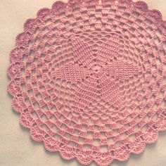Sousplat de Crochet / crochet placemat