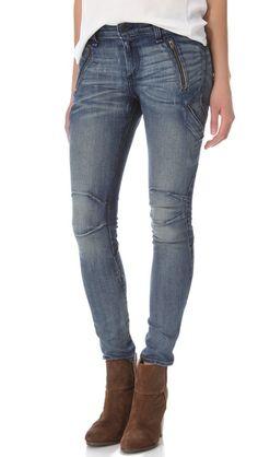 Rag & Bone/JEAN Rally Cargo Skinny Jeans
