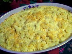 This recipe used to be on the side of the Creamettes Macaroni box. It is my favorite baked macaroni and cheese recipe.