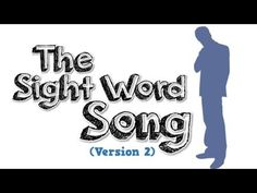 The Sight Word Song High frequency word song rap for kids - YouTube