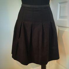 NWOT pleated GAP skirt Zipper waist,  super soft stretchy GAP Skirts Midi