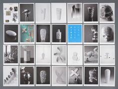 """Studio Pirsc Catalogue    Studio Pirsc Porcelain  –  Catalogue for """"different"""" porcelain  56 cards/pages, 148×210  –  2011"""