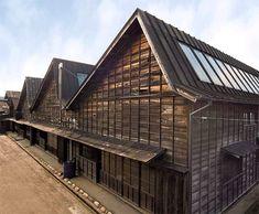 43ノコギリ屋根織物工場群 | 日本の近代遺産50選