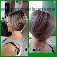 Corte de cabelo curto da Jennifer Calderon  #pelocorto #cabeloscurtos