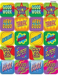 Teacher Created Resources Good Work Stickers, Multi Color (1990) by Teacher Created Resources, http://www.amazon.com/dp/B004Z47C80/ref=cm_sw_r_pi_dp_6TB5qb0DK0CKC