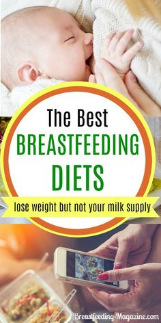 Lose weight wihtout losing your breast milk supply