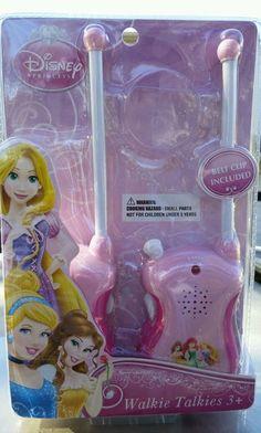 Disney Princess Walkie Talkies 2014 New in package #Disney