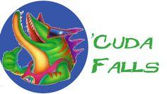 'Cuda Falls custom ride sign #RCT3 Roller Coaster Tycoon, Darien Lake, Coasters, Signs, Shop Signs, Sign, Coaster Set, Dishes