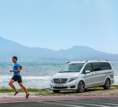 The secret star in the background: the new V-Class. European Tour, Iron Man, Mercedes Benz, Tours, Star, Sports, Pictures, Hs Sports, Photos