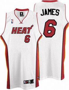 white hot lebron james jersey