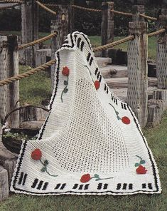 Crochet Pattern For Piano Afghan : 1000+ images about Afghans on Pinterest Music notes ...