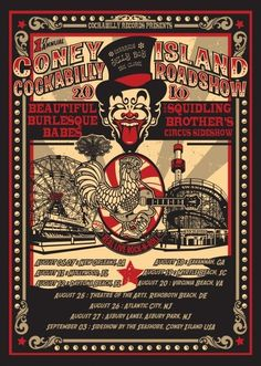 coney island freak show - Google Search