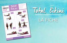 TOTAL BIKINI : La fiche d'exercices pour un corps tonique !
