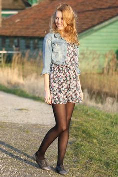 Shalane is part of the world's largest online fashion community that helps you refine your personal style Pantyhose Fashion, Pantyhose Outfits, Fashion Tights, Tights Outfit, Cute Girl Dresses, Cute Girl Outfits, Pretty Dresses, Casual Outfits, Preteen Girls Fashion