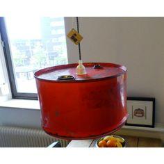 Rode hanglamp van Indusigns