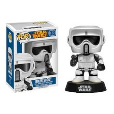 1 FREE Official Star Wars Trading Card Bundle 62231 x Star Wars Vinyl Bobble-Head Figure w// Stand First Order Snowtrooper: Funko POP
