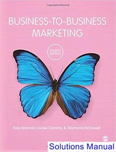 Solutions manual for business analytics 2nd edition evans download solutions manual for business to business marketing 4th edition by brennan ibsn 9781473973442 fandeluxe Images