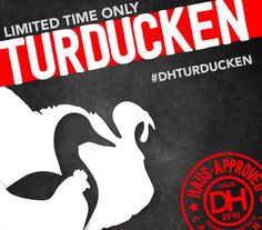 Brace Yourselves. The TURDUCKEN arrives Nov 1st.  Available at all Dog Haus locations for a limited time while supplies last.   FOLLOW @DogHausDogs The Absolute Wurst | Kings Hawaiian Roll | Holiday Food | Holiday Sausage | Holiday Recipe | Instagram Contest | Hipster Food Photo | Gift Card | Holiday Gift | Thanksgiving Meal | Christmas Dinner