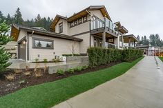 10 Plums by Wallmark Custom Homes, represents a one-of-a-kind opportunity for home buyers who are looking for a new or custom view home in North Vancouver. North Vancouver, Custom Homes, Plum, Exterior, Mansions, House Styles, Home Decor, Decoration Home, Manor Houses