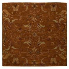 Home Decorators Collection Ansley Dark Gold 7 ft. 9 in. Square Area Rug