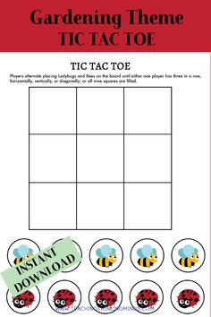 Garden Theme Activity Bundle - Teaching Thinking Minds Emergent Literacy, Literacy Worksheets, Critical Thinking Skills, Gross Motor Skills, Garden Theme, Dramatic Play, Life Cycles, Kids Education, Craft Activities