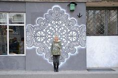 Nespoon Lacework Street Art