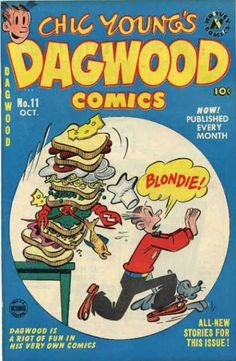 Can blondie giving dagwood a blowjob thank
