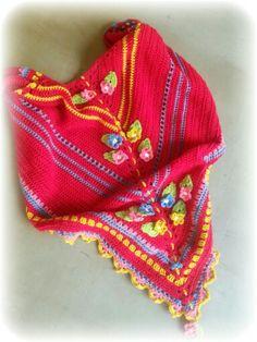 Made by Moos - crochet shawl omslagdoek