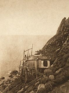 On the Cliff Edge - King Island (The North American Indian, v. XX. Norwood, MA, The Plimpton Press, 1930)