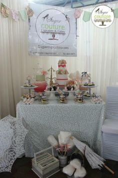Novias show 2013! Stand Sugar Couture Cupcakes and Cakes y Alquibodas.