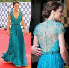 nice hair.. nice dress