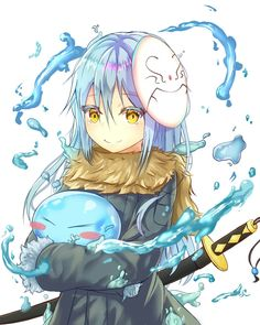 That Time I Got Reincarnated as a Slime Character Design, Kawaii, Art, Anime, Anime Characters, Anime Drawings, Anime Style, Fan Art, Manga