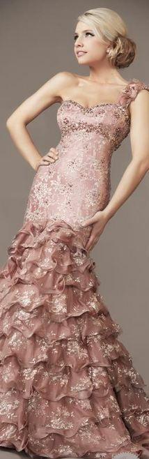 MacDuggal - Sweet Pastel Pink Gown #josephine#vogel