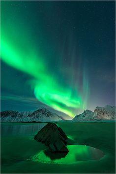 ~~Small Mirror Lake ~ Flakstad, Lofoten, Norway by Oliver Schratz~~