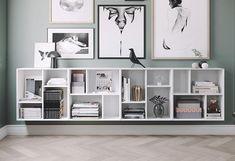 Z Cube fehér polc, 70 x 70 cm - Tenzo Home Design, Cube Shelves, Hygge Home, Scandinavian Interior Design, Feng Shui, Shelving, Sweet Home, Room Decor, Tv Storage