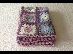 VERY EASY granny square blanket tutorial for beginners, My Crafts and DIY Projects