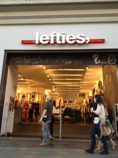 Lefties - Zara outlet store