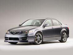 2006 Acura TSX A-Spec Concept.